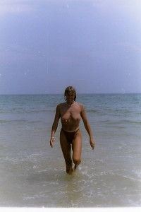 sortante de la mer